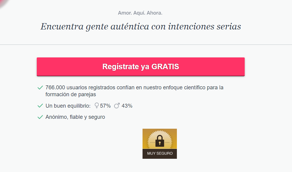 Registrate ya gratis